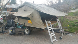 Off-Road rooftop tent easy project