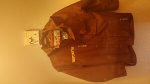 boys burton winter coat