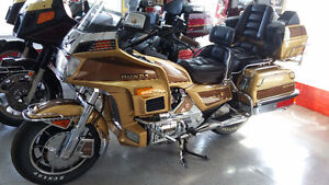 HONDA, GOLDWING GL1200, 1985 LIMITED EDITION