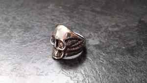 Stainless Steel Skull Ring Kingston Kingston Area image 2