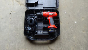 Black and Decker cordless drill for sale