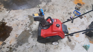 Toro gas snow thrower
