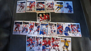1991-92 Canada Cup NHL UD cards with rookies(21)
