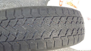 4x like New Winter Tires at a discounted Price! West Island Greater Montréal image 5