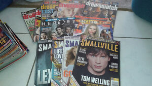 Smallville, Dreamwatch,Heroes and Doctor Who