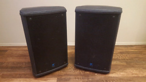 2 Yorkville NX55p Powered Speakers (Must go price reduced)