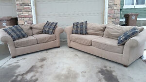 Matching Couch & Loveseat - Can Deliver