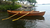 16' Double-ender Wooden Rowing Skiff