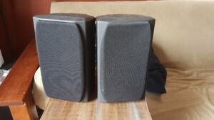 Small Pair of Mission Speakers
