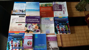 Nursing program textbooks