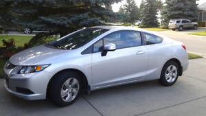 2013 Honda Civic LX Coupe (2 door)