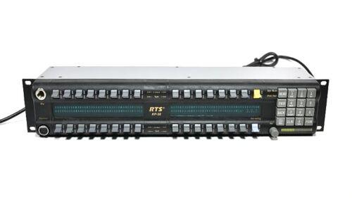 RTS Telex KP-32 Matrix Intercom Station ADAM KP32 v2.0.9 90007656005 Blue LCD