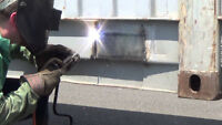 Mobile welding and shop services.