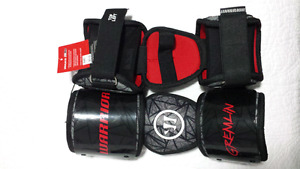 Brand new never worn Warrior Lacrosse elbow pads