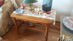 Solid Pine End Table/Hall Table