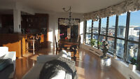 Downtown Vancouver - Bright with ocean views