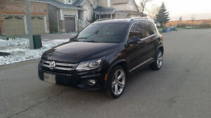 2013 Volkswagen Tiguan R-Line, Highline SUV All Wheel Drive
