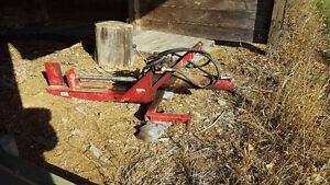 3 Point Hydraulic Log Wood Splitter Tractor Mount Horizontal Peterborough Peterborough Area image 1