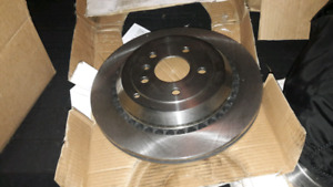 2 Vented rear brake rotors for 2007-2012 MB GL, ML and R series