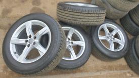 Audi alloys 18inch q3 q5 q7 alloy wheels 5x112