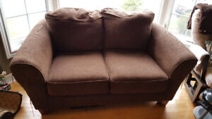 Free Loveseat (some cat scratch damage) pick up before Tuesday