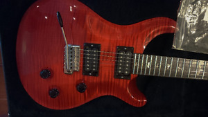Like New USA 2006 PRS Custom 24 with10Top TransRed-with Case+CoA