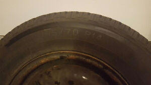 Bearly used Winter Tires London Ontario image 1