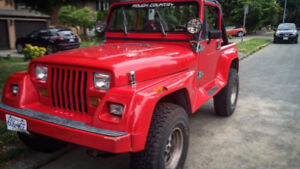 1991 Jeep Wrangler Coupe (2 door)