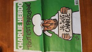 Charlie Hebdo News Paper