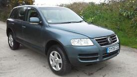 2005 Volkswagen Touareg 2.5TDI auto DAMAGED SPARES OR REPAIR SALVAGE