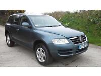 2005 Volkswagen Touareg 2.5TDI auto DAMAGED SPARES OR REPAIR SALVAGE
