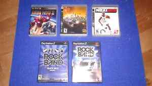 Jeux/Guitare/Et plus { PLAYSTATION 2/3 } Games/Guitar/And more