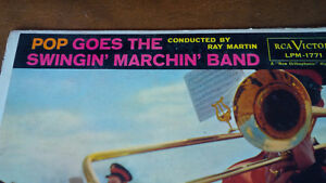 LP: Pop Goes The Swingin' Marchin' Band, Conductor Ray Martin Kitchener / Waterloo Kitchener Area image 2