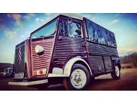 Vintage Van Available For Hire - Ideal For Catering or Promotion/Event purposes