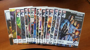 FANTASTIC FOUR 554-568 MARK MILLER RUN FF 1 DARK REIGN 2,4