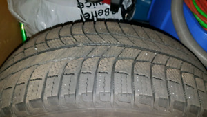 Michelin X-Ice tires 215 50 17