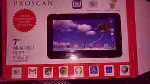 """7"""" tablet proscan bnib"""