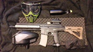 TM15 WITH HALO B LOADER, VENTS MASK AND 16CI AIR TANK