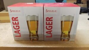 Brand New Spiegelau Beer/Lager Glasses - German Made 560ml
