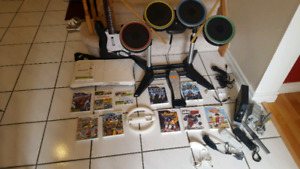 SOLD PPU - Complete Nintendo Wii Rock Band Package