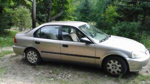 HONDA CIVIC 2000, LX 4 PORTES AUTOMATIQUE