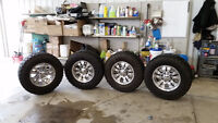 TIRES, RIMS, AND TOPPER PACKAGE DEAL
