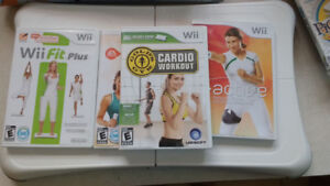 Wii Fit Plus, Wii Active, Wii Draw plus many more games