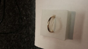 10K gold band size 7