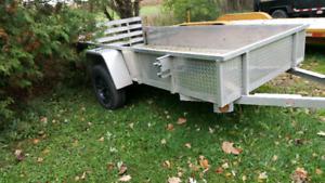 5x10 Aluminum Utility trailer