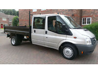 FORD TRANSIT 350 RWD D/CAB 10.5 / 2.4 STEEL BACK TIPPER