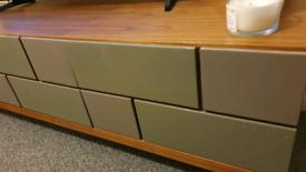 Dwell Brick TV Unit Stone H48cm W180cm D50cm