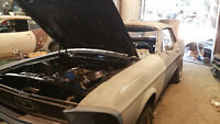 1968 Ford Mustang Coupe (2 door)