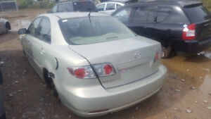 2006 MAZDA6. JUST IN FOR PARTS AT PIC N SAVE! WELLAND