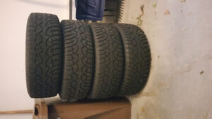 winter tires with rims 215/60R16